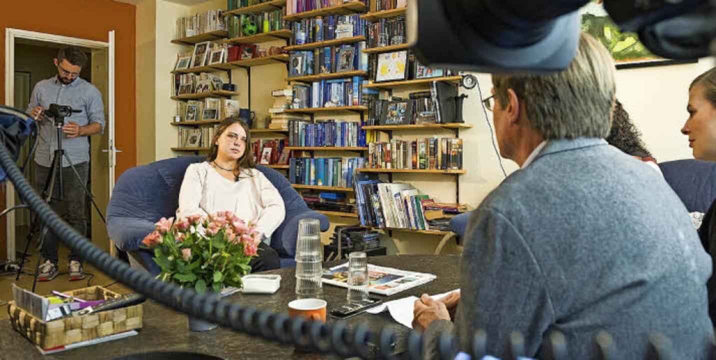 Maria H. beim Interview mit RTL  | Foto: MG RTL D / Daniel Schoenen