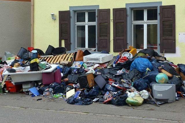 Ab 2020 müssen Bürger im Kreis Lörrach ihren Sperrmüll anmelden