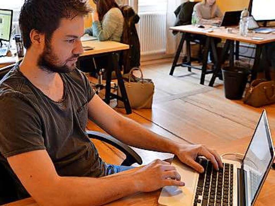 Benedikt Böckenförde, Gründer und CEO von Visual Statements  | Foto: Michael Bamberger