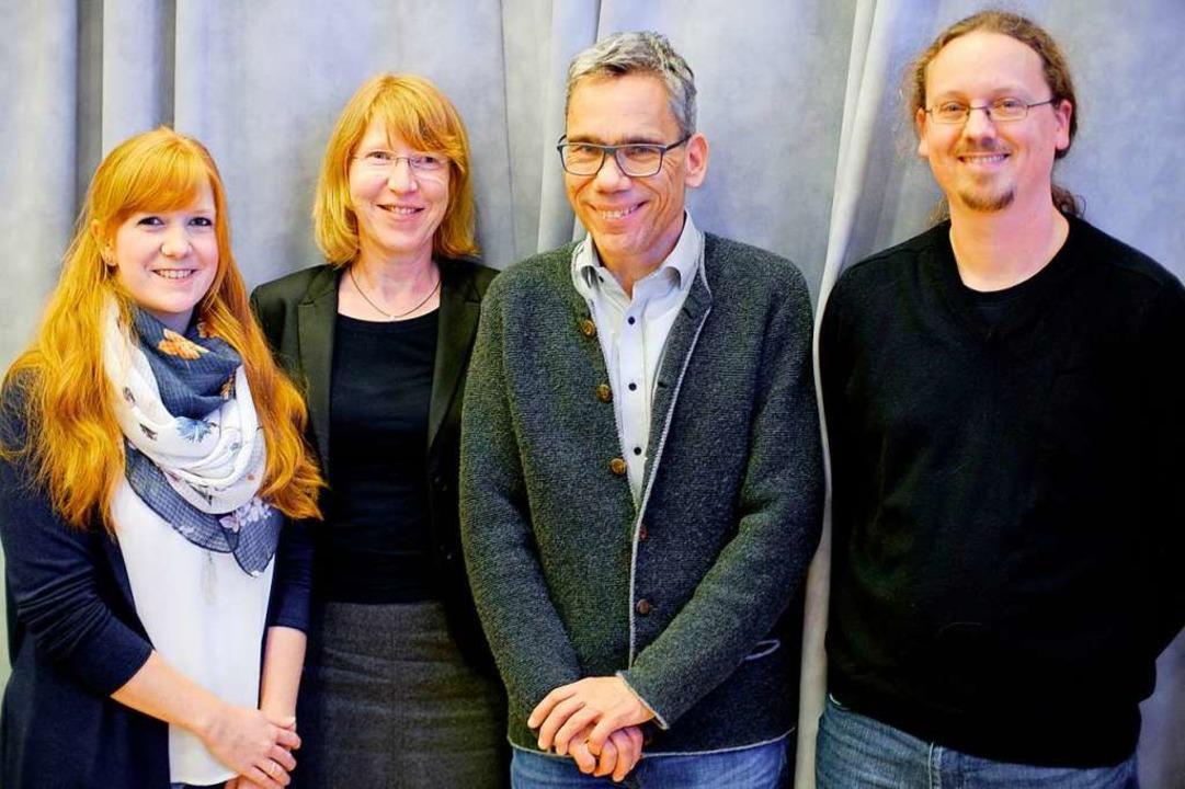 Die Referenten: Anna Wunderlin, Christ...raun und  Daniel Kammerer (von links).  | Foto: Ansgar Taschinski