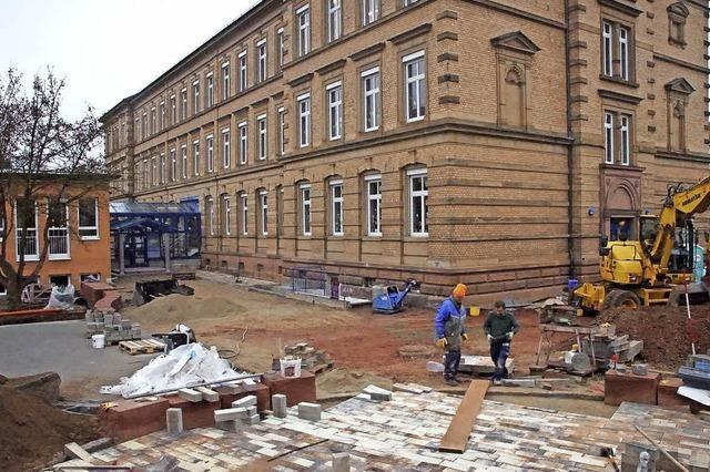 Schulhof wird neu gestaltet