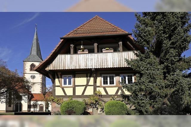 Leben im ältesten Privathaus im Ort