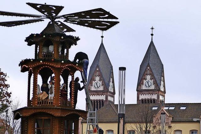Weihnachtsmarkt Offenburg, Außenstelle Lindenplatz