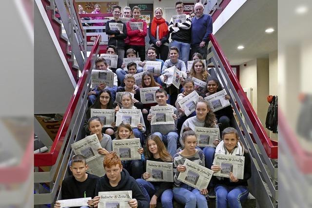Die Zeitung in der Schule