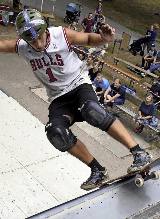Skatboarden ist bei vielen Jugendlichen hoch im Kurs.  | Foto: Thomas Kunz