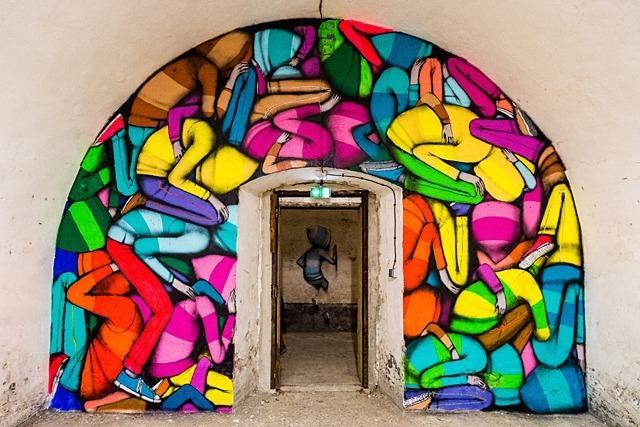 Fotos: Street-Art in  Neuf-Brisach