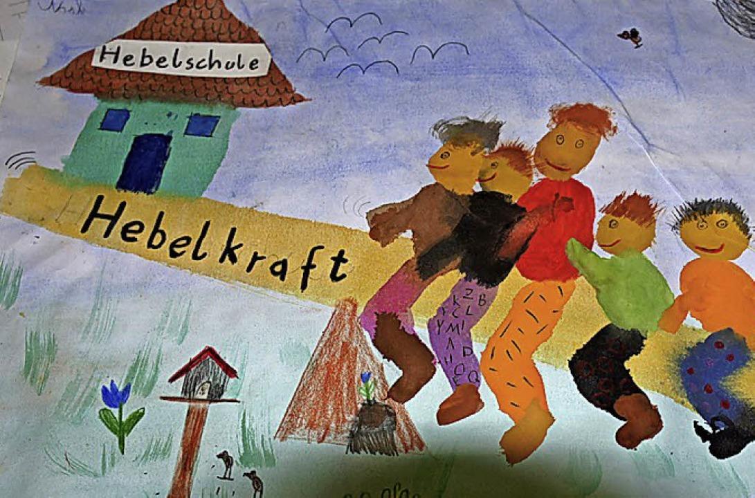 Von Schülern selbst kreiert: das Logo der Hebelkraft     Foto: Herbrig