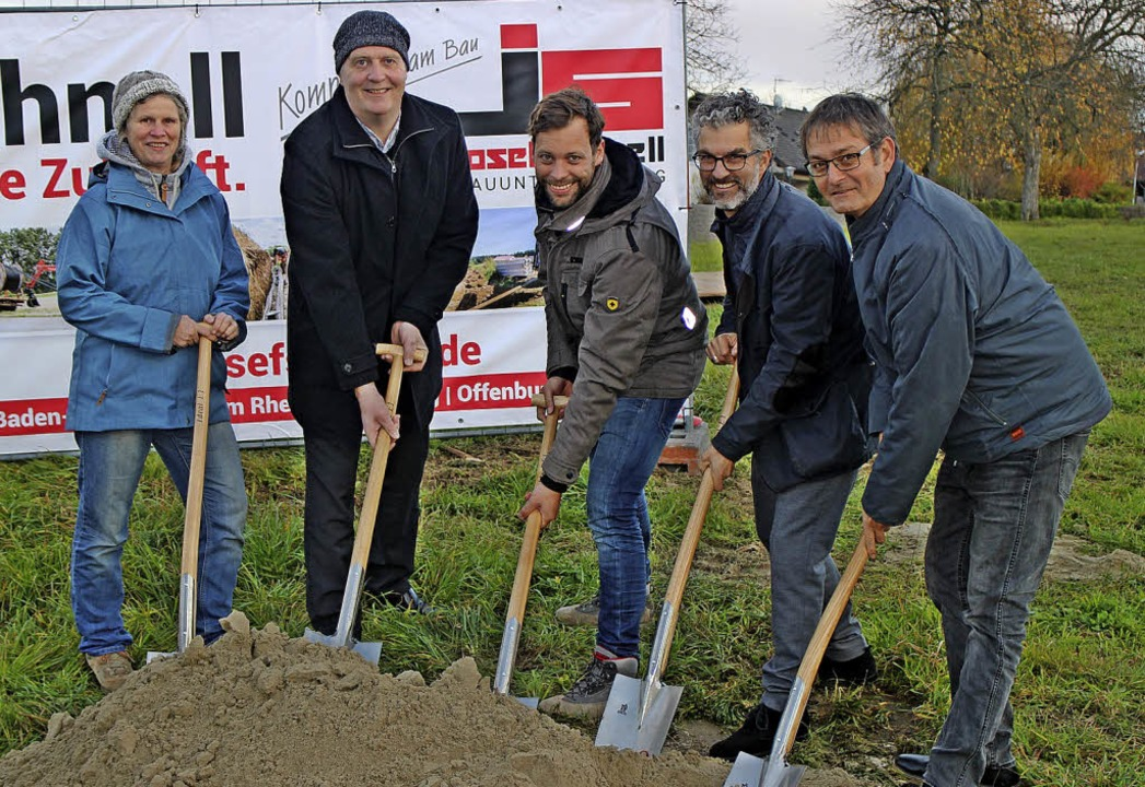 Von links:  Bürgermeister-Stellvertret... Thomas Strübe (Planungsbüro Südwest)     Foto: Rolf Rhein