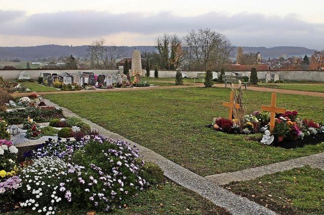 Schallbacher Friedhof soll schöner werden