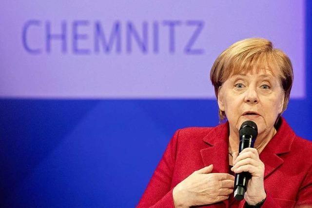 Ein früherer Merkel-Besuch in Chemnitz wäre ein starkes Signal gewesen