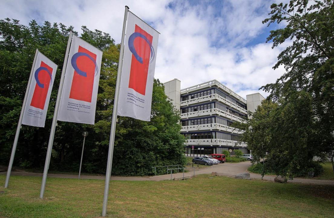 Die Verwaltungshochschule Ludwigsburg ... Untersuchungsausschusses des Landtags    Foto: dpa