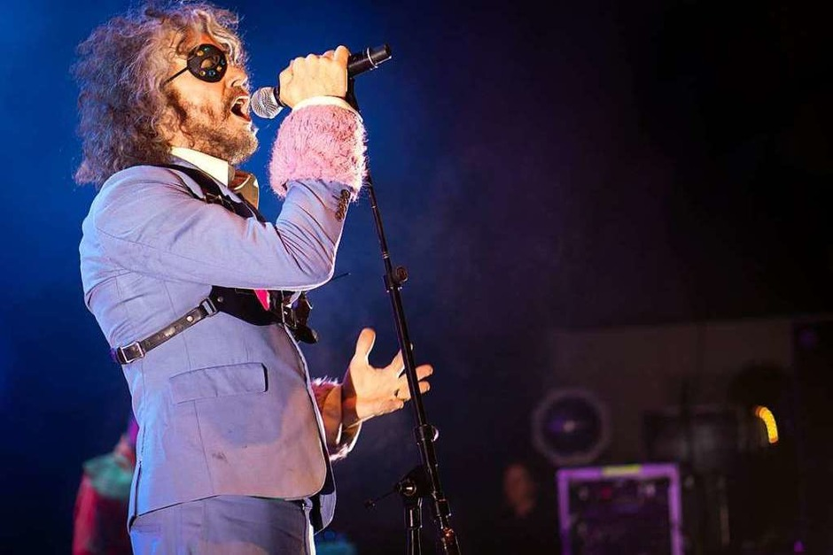 Wayne Coyne von The Flaming Lips (Foto: Simon Langemann)