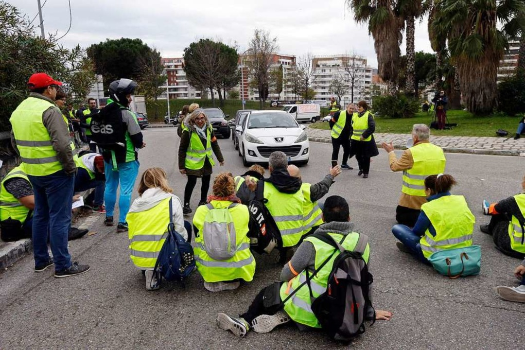 Benzin Unternehmen Protest