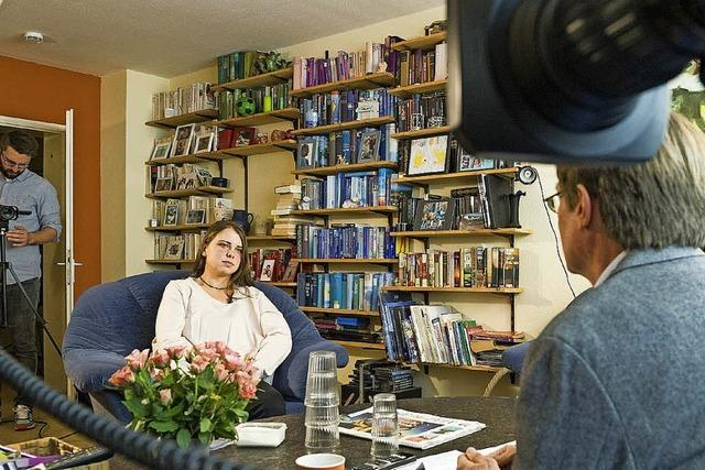 Maria H. spricht im TV