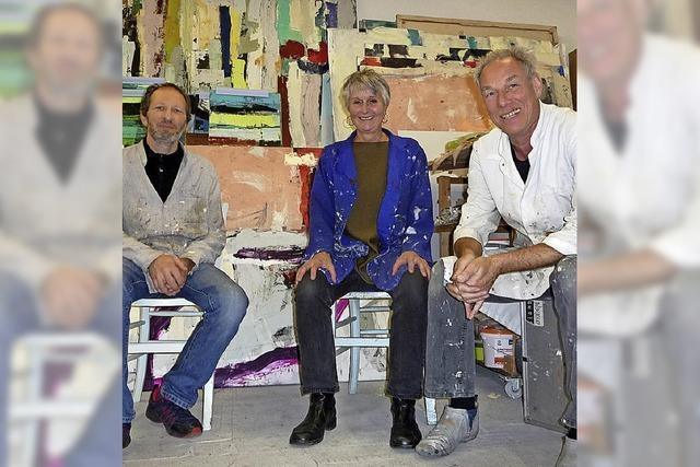 Künstler Wand an Wand
