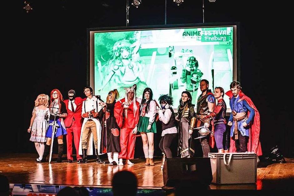 Das Bürgerhaus in Zähringen verwamdelte sich am Freitag und Samstag in eine bunte Anime-Welt. (Foto: Janos Ruf)