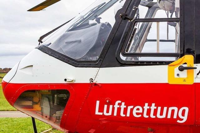 Im Land fehlen vor allem nachtflugtaugliche Hubschrauber