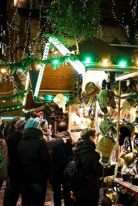 Insgesamt 31 Tage dauert der Weihnacht... sind so viele Markttage wie noch nie.  | Foto: Thomas Kunz