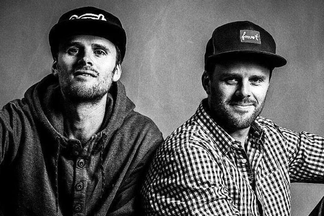 Das Freiburger Hiphop-Duo Zweierpasch  | Foto: Irina Kim