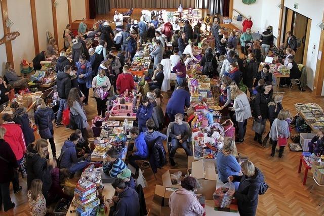 Spielzeugbörse in Ringsheim