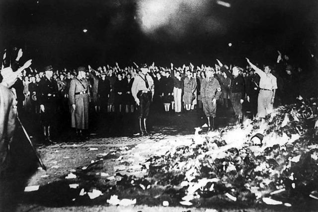 Warum wurden 1933 Bücher verbrannt?