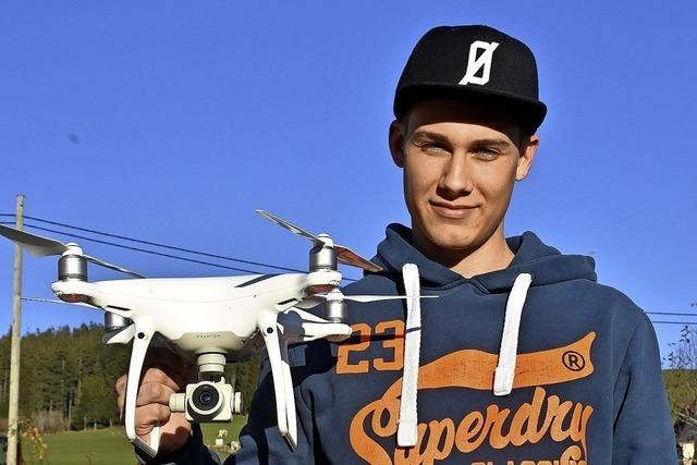 Nicht ohne seine Drohne