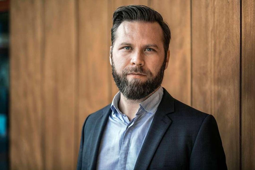 Christian Hirth, Gründer und CEO von The Chainless.  | Foto: Demian Pleuler
