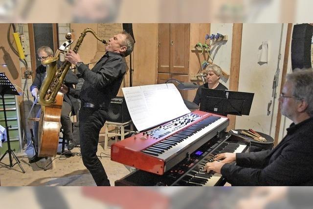 Freiburger Quartett mit Spielfreude