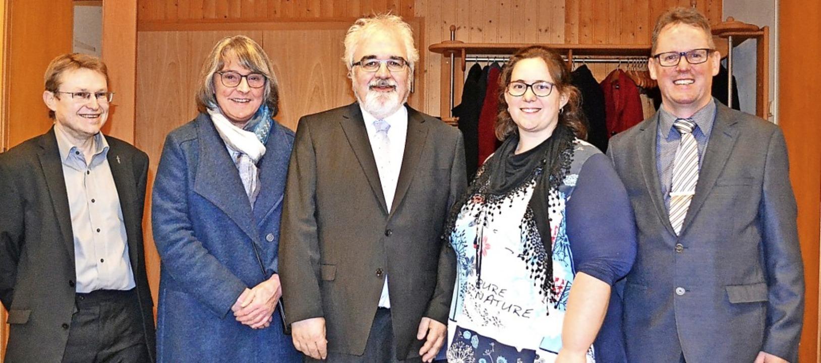 Amtseinführung für Zells neuen evangel...meinderatsvorsitzender Markus Becker.   | Foto: Paul Berger