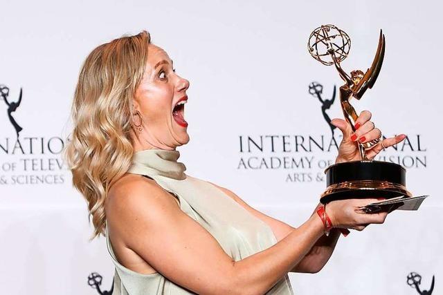 Anna Schudt gewinnt den Emmy-Preis als beste Hauptdarstellerin