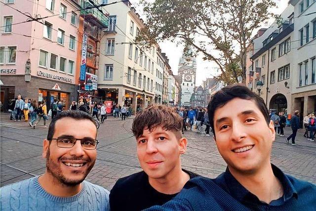 Dieses Entwicklerteam aus Freiburg und Colmar hat eine App zum Helfen entwickelt