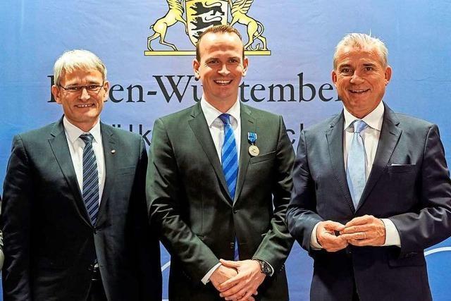 Auszeichnung für Heitersheims Kommandant Kai Ullwer