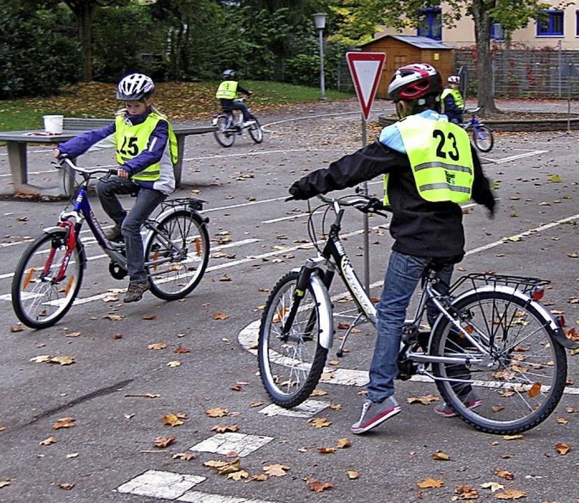Die Radfahrausbildung im Kreis Waldshut ist gefährdet.   | Foto: Privat