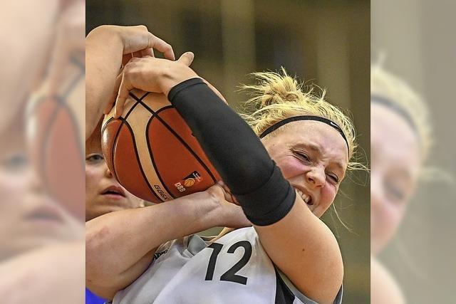 Zähes Ringen beim Basketball
