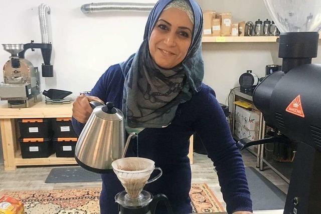 Frisch gebrühte Integration in der neuen Kanderner Kaffeerösterei