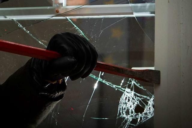 Einbrecher verursachen viel Schaden