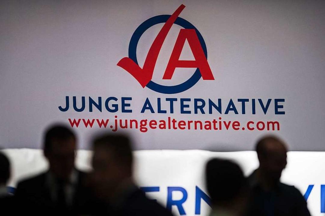 Die Junge Alternative, der Jugendverba...AfD, steht im Land unter Beobachtung.   | Foto: dpa