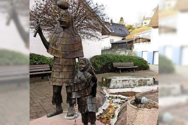 Neue Pumpe für Bachdatscherbrunnen