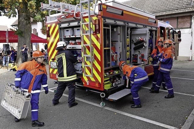 Umzug ins neue Gerätehaus hielt die Feuerwehr auf Trab