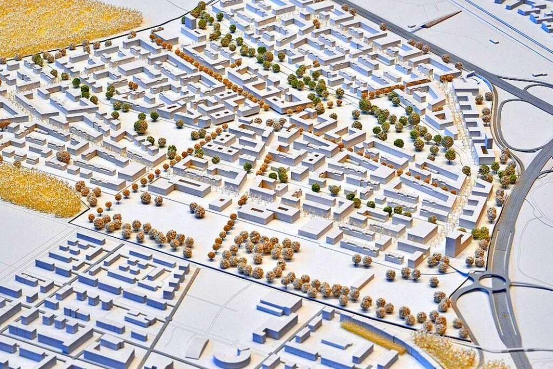 Der Siegerentwurf für den neuen Stadtteil  | Foto: Michael Bamberger