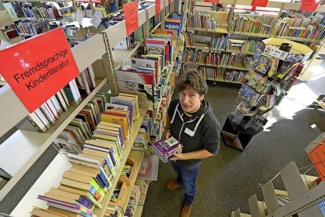 In der Haslacher Stadtteilbibliothek wird seit 40 Jahren ausprobiert, welche Medien ankommen
