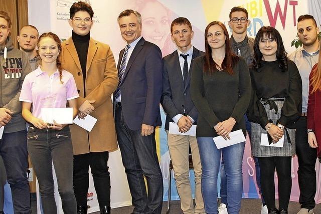 Lea Schnurrenberger gewinnt den Azubi-Award