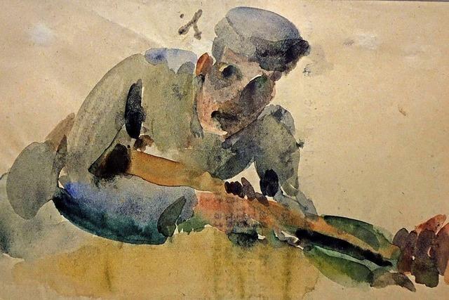 Strübe war Soldat – und blieb Künstler