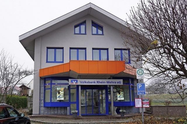 Künftig Selbstbedienungs-Geschäftsstelle