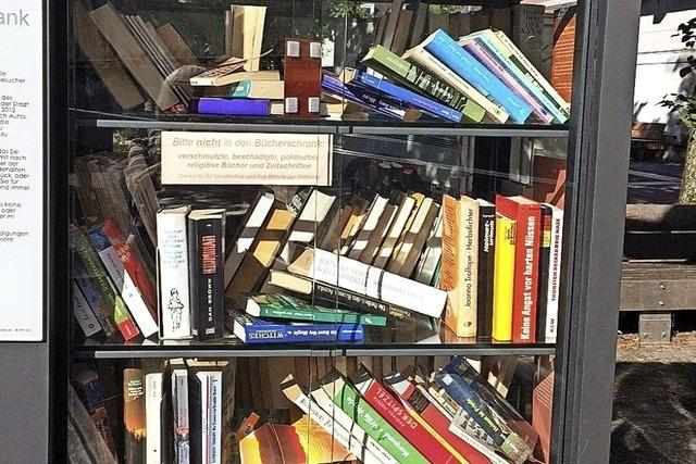 Dreister Bücherklau