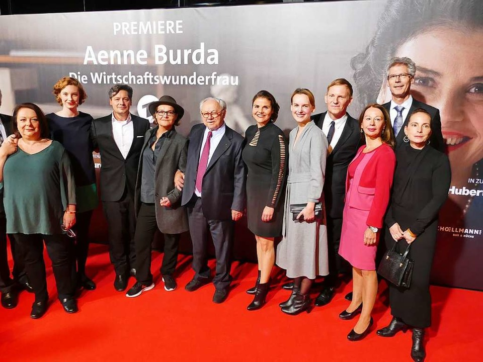 Bei der Premiere auf dem roten Teppich  | Foto: Helmut Seller