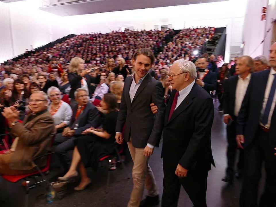 Bei der Premiere  | Foto: Helmut Seller
