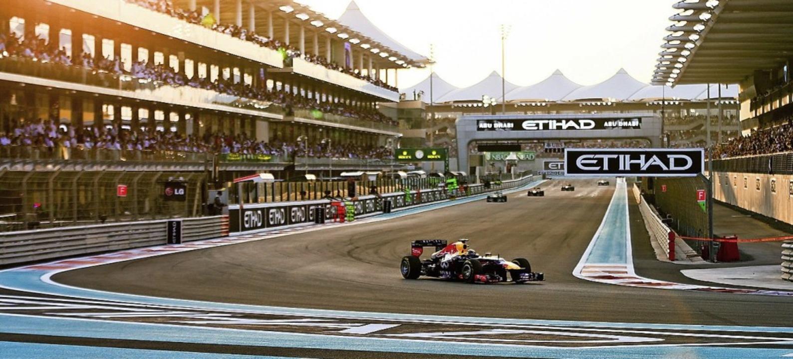Der Yas Marina Circuit in Abu Dhabi  | Foto: dpa