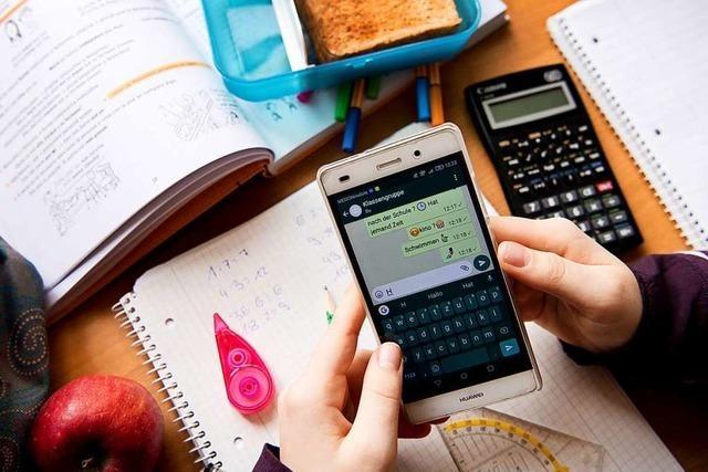 Im Unterricht in Rheinfelden und Umgebung sind Handys tabu