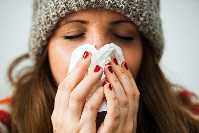 Die Grippewelle im Südwesten beginnt